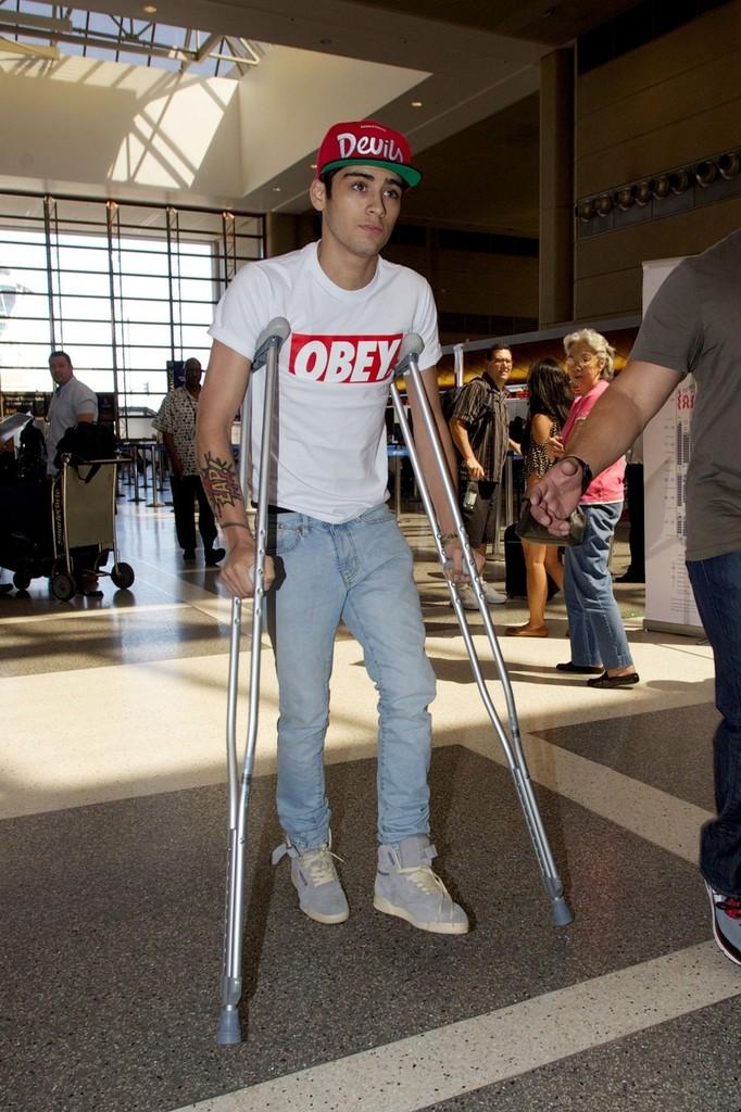 Rhinestone Crutches