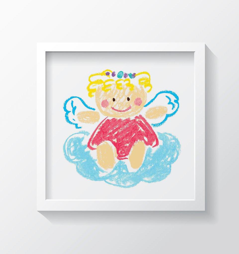 nursery wall art girl